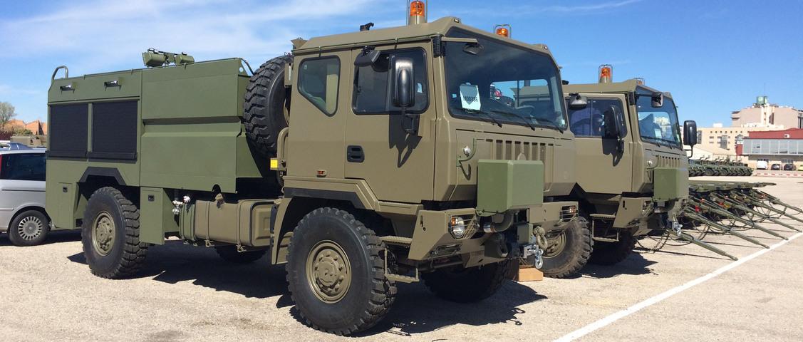 Foto camión militar